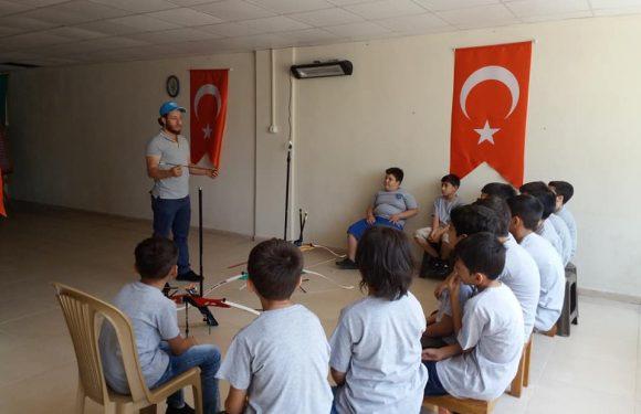 Yaz Okulu Öğrencilerimiz Okçuluk Eğitiminde…