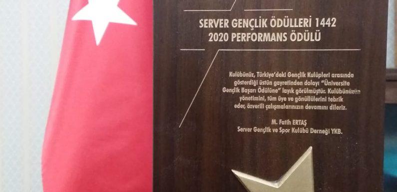 SERVER GENÇLİK ÖDÜLLERİ 1442